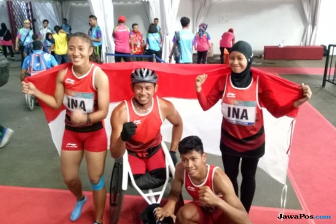 Asian Para Games 2018, INAPGOC, Kemenpora, Indonesia, estafet