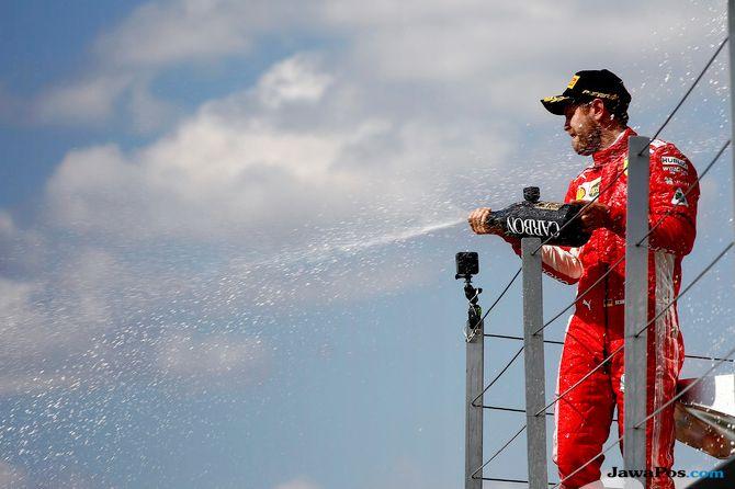Formula 1, F1, GP Inggris, Sebastian Vettel, Lewis Hamilton, Valterri Bottas, Daniel Ricciardo, Max Verstappen, Kimi Raikkonen