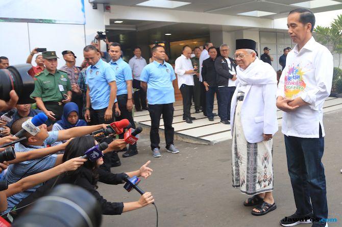 Jokowi dan Kiai Ma'ruf
