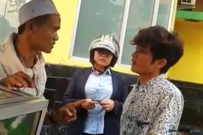 Videonya Viral, Preman Pemalak Pedagang Bakso Bakar Diringkus Polisi