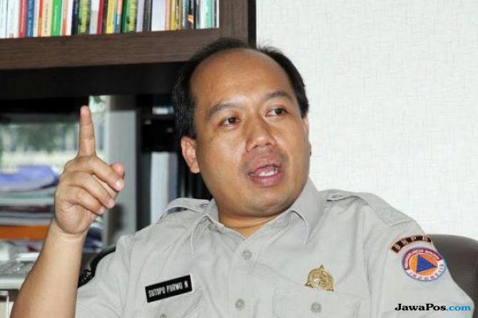 Kepala Pusat Data, Informasi, dan Humas  BNPB, Sutopo Purwo Nugroho.