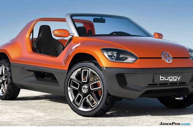 VW Buggy Beach, Mobil Mungil Asal Jerman Siap Jelajahi Pantai