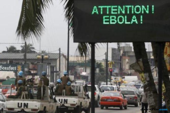 wabah ebola kongo bisa menyebar
