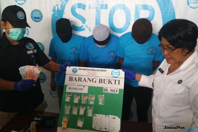 Waduh, Taman Bungkul Jadi Transaksi Narkoba Jaringan Lapas