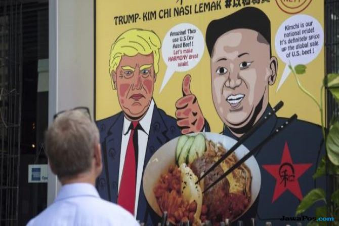 Wah, Menu Kim Jong Un dan Trump Ramaikan Kuliner Singapura