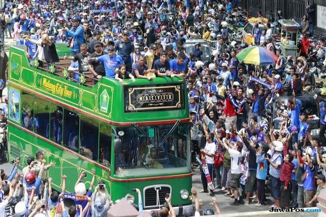 Wali Kota Malang Guyur Arema Bonus Sebesar Rp 100 Juta