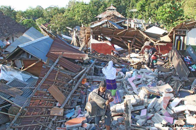 WNA Kehilangan Dokumen Saat Gempa Lombok Tak Perlu Lapor Polisi