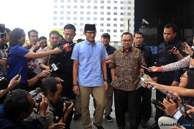 Wujud Kecintaan Pada Rupiah, Sandi Ajak Presiden Jokowi Tukarkan Dolar