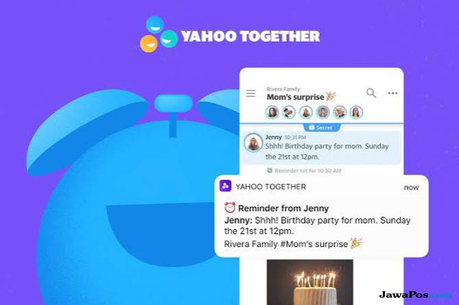 Yahoo, Yahoo Together, Yahoo Together WhatsApp