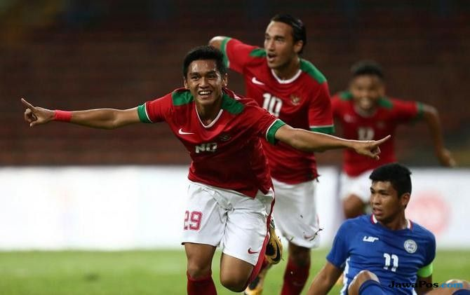 Septian David mengilap selama SEA Games 2-017
