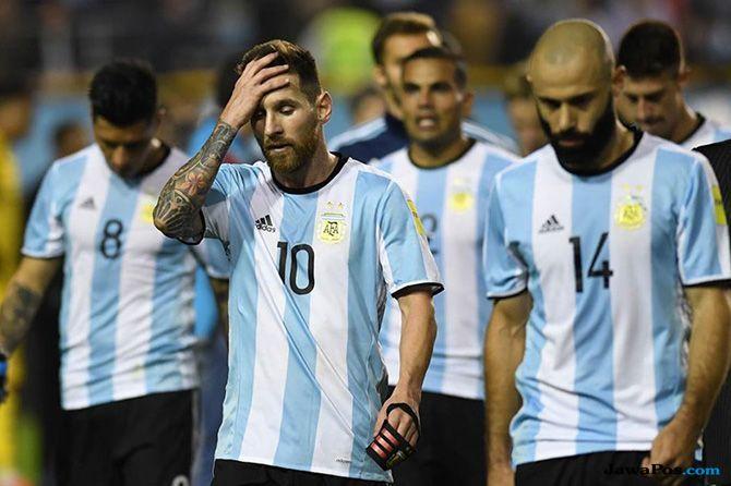 timnas argentina, lionel messi, piala dunia 2018