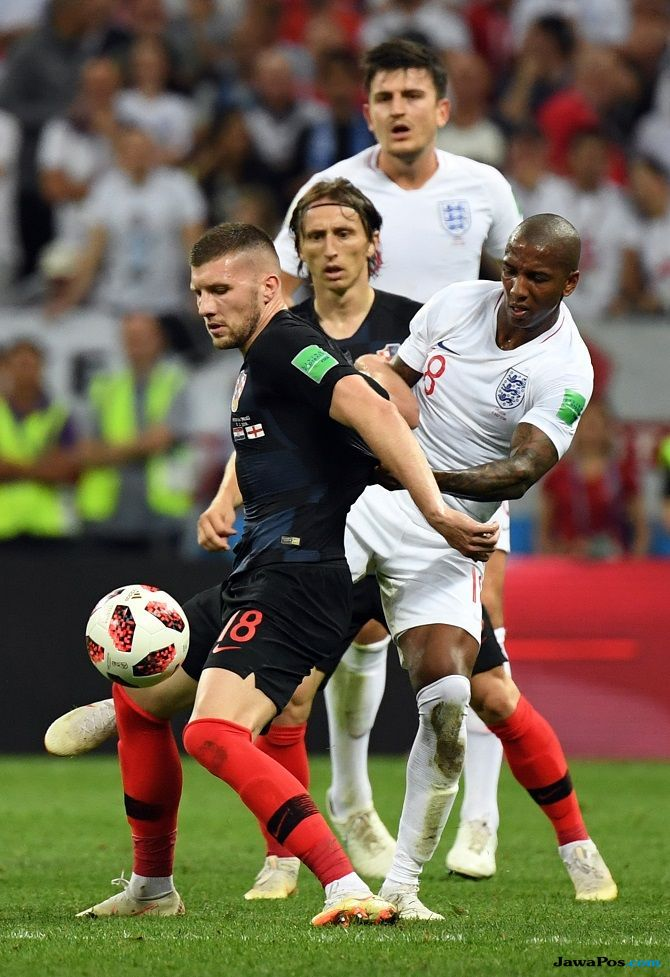 timnas inggris, timnas kroasia, piala dunia 2018