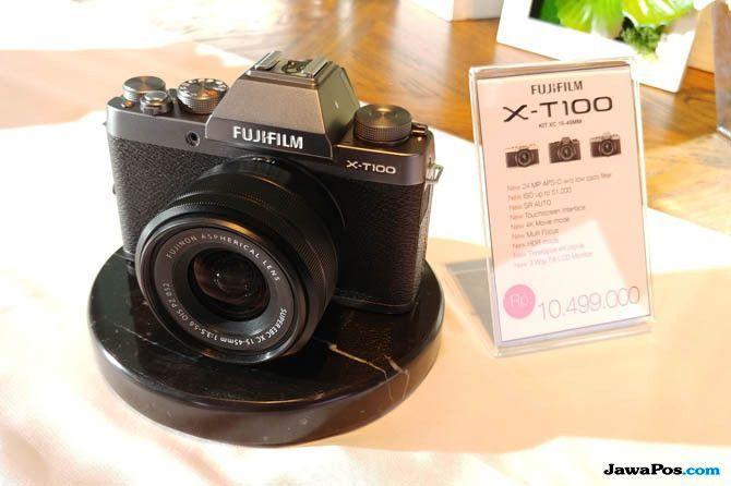 Fujifilm X-T100, kamera murah 2018, kamera digital murah