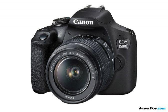 Canon EOS 1500D, kamera murah 2018, kamera digital murah