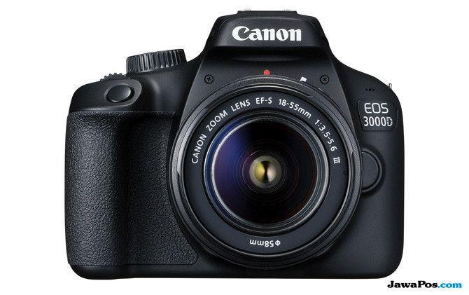 Canon EOS 3000D, kamera murah 2018, kamera digital murah