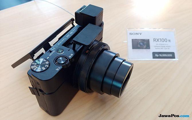 Sony RX100 Mark VI, kamera murah 2018, kamera digital murah