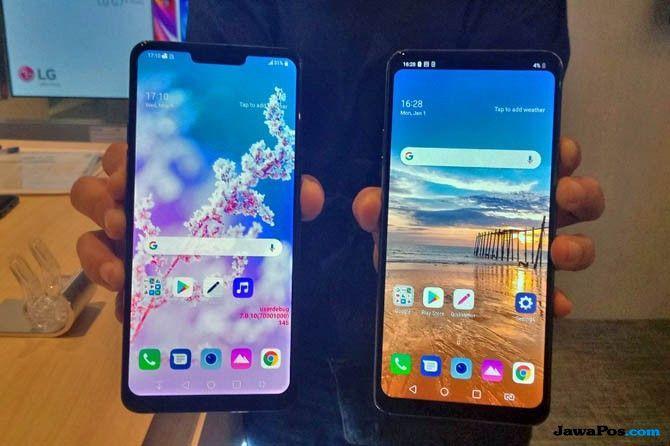 LG G7 Plus ThinQ, smartphone flagship 2018, smartphone flagship terbaru