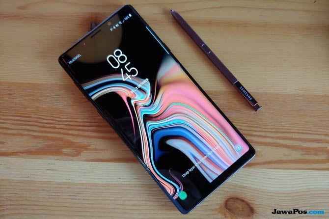 Samsung Galaxy Note 9, smartphone flagship 2018, smartphone flagship terbaru