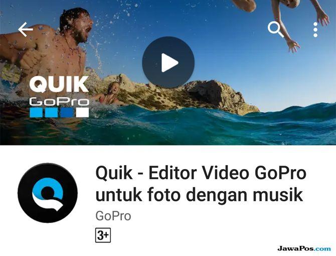 Quik by GoPro, edit video smartphone