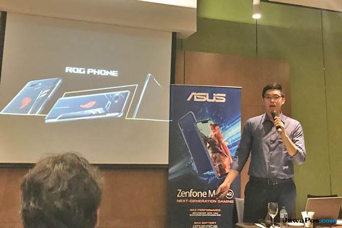 Asus ROG Phone, Asus ROG Phone Indonesia, Asus ROG Phone spesifikasi