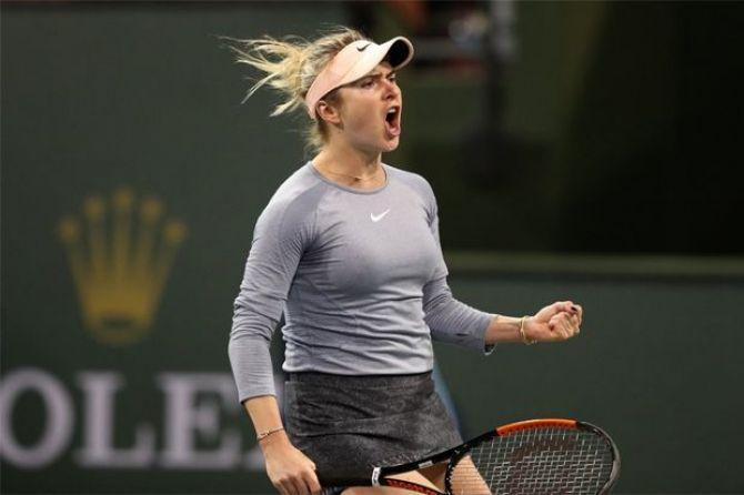 Tenis, Indian Wells Masters 2019, Elina Svitolina