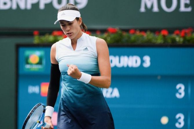 Tenis, Indian Wells Masters 2019, Garbine Muguruza