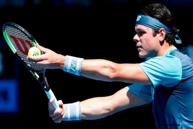 Tenis, Australia Terbuka 2019, Milos Raonic