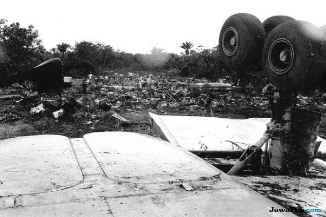 Kecelakaan pesawat, Tragedi Paramaribo