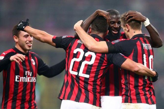 Serie A, Liga Italia, AC Milan