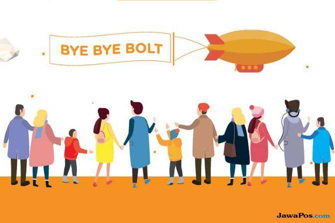 Bolt ditutup, first media ditutup, isu teknologi 2018