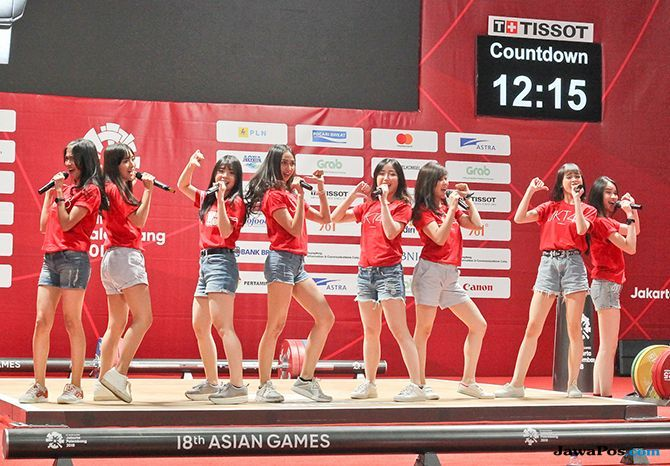 JKT48 Meriahkan Closing Ceremony Asian Games di Palembang