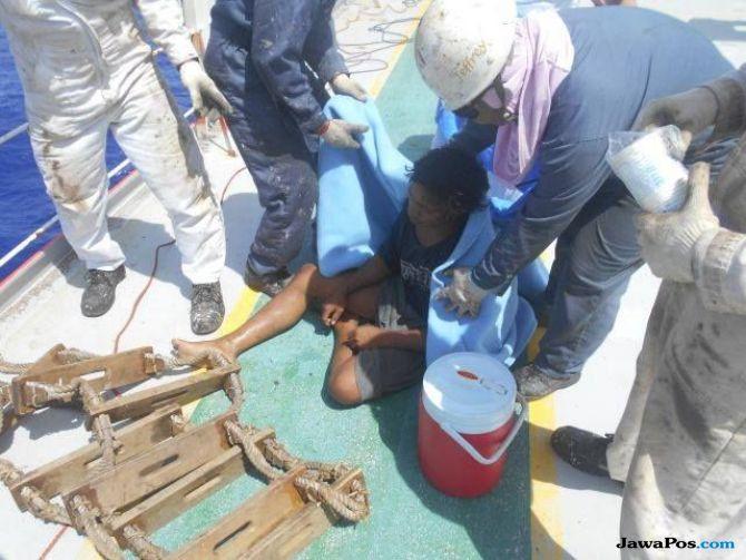 Kisah Aldi yang 49 Hari Terombang Ambing di Laut Lepas Bersama Rakit