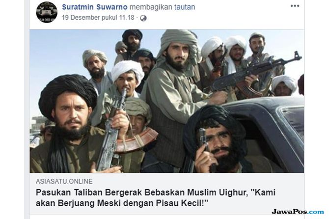Konten Hoax soal Uighur Makin Menjamur