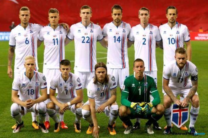 Piala Dunia 2018, Timnas Islandia
