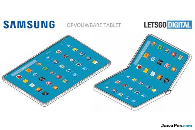 Samsung Galaxy F, Samsung Smartphone Lipat, Desain Samsung Galaxy F