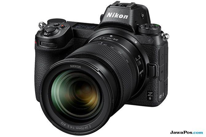 nikon mirrorles kamera, Nikon z6 indonesia, nikon z7 indonesia
