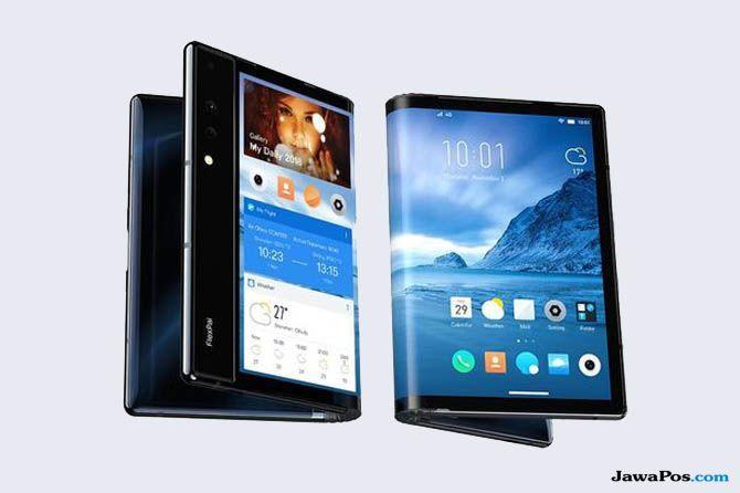 Royole FlexPai, Smartphone Lipat Royole FlexPai, Royole FlexPai Smartphone Lipat