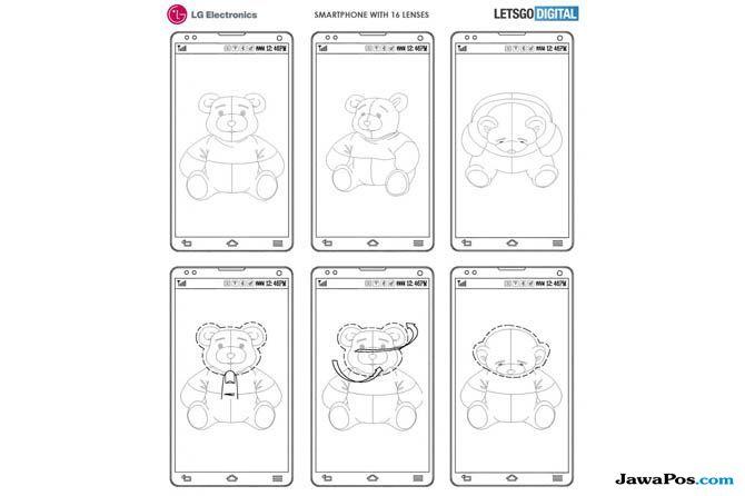 LG 16 Kamera, LG Smartphone, LG smartphone 16 Kamera
