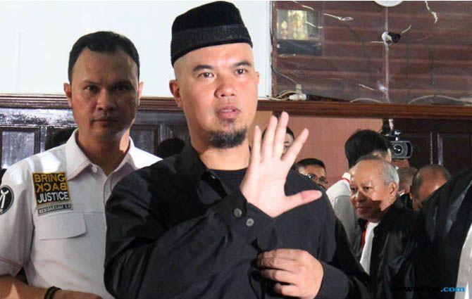 Ahmad Dhani: Kalau Saya Dihukum Berarti Hukum di Indonesia Sontoloyo