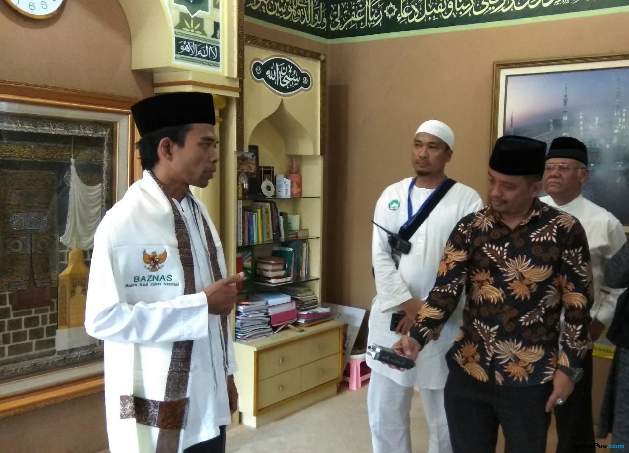 Ajakan Ustad Abdul Somad Ketika Didaulat Sebagai Duta Zakat Indonesia