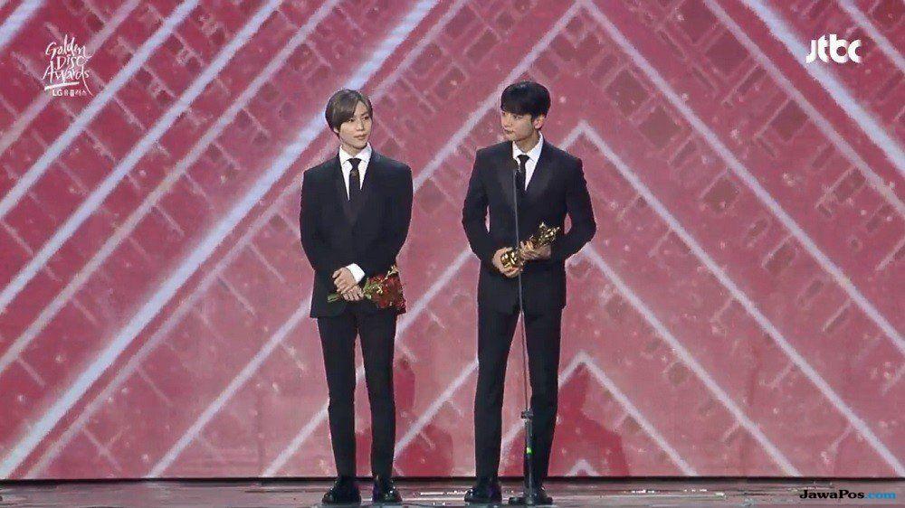 Almarhum Jonghyun SHINee Dapat Penghargaan di Golden Disc Awards ke-33