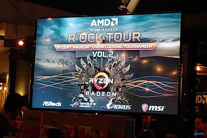 AMD, AMD Rock Tour Vol 2, AMD Esports Overclocking