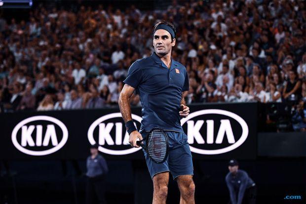 Tenis, Australia Terbuka 2019, Roger Federer