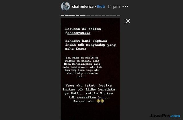 Artis FTV Saphira Indah Tutup Usia, Jenazahnya Dimakamkan Pagi Ini
