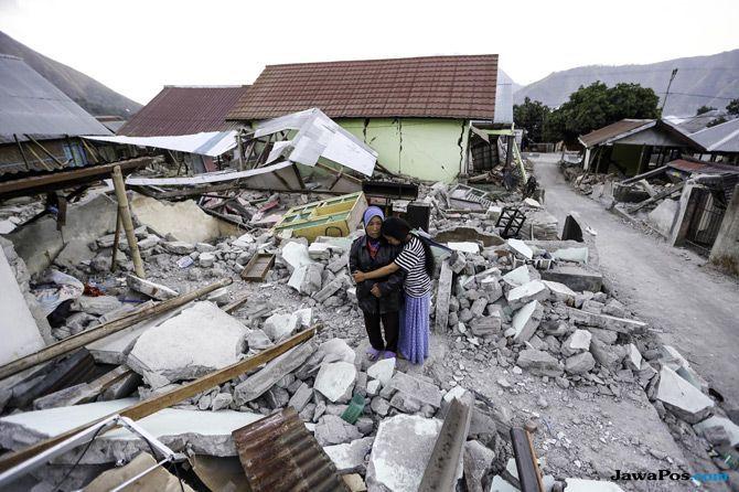 Bangkit Dari Bencana, Siswa Korban Gempa Lombok Kembali ke Sekolah