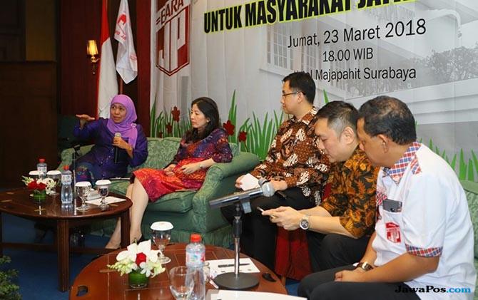Barisan Relawan Jokowi Makin Mesra Bersama Khofifah