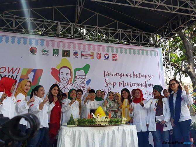 Bersama IJMA, Ida Fauziyah Deklarasikan Dukungan untuk Jokowi-Ma'ruf