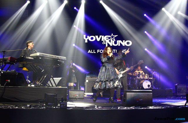 Bikin Haru, Yovie Widianto Pamitan di Panggung Love Festival Vol.3