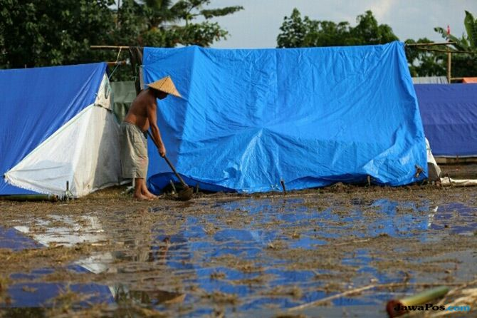 Bilik Barokah, Tenda Khusus Bagi Pasutri Pengungsi Gempa Lombok