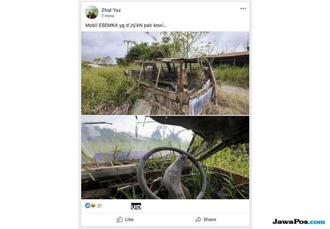 Hoax Mobil Esemka